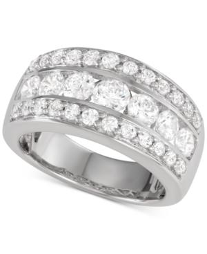 Macy's Star Signature Diamond Band (2 ct. t.w.) in 14k White Gold