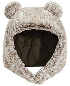 First Impressions Baby Boys & Girls Teddy Bear Faux-Fur Hat, Created for Macy's