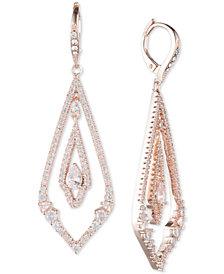 Jenny Packham Pavé Chandelier Earrings
