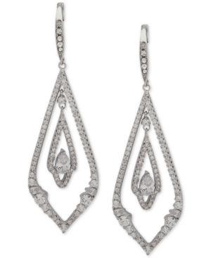 JENNY PACKHAM Pave Chandelier Earrings in Silver