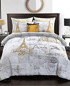 Urban Living Paris Bedding Set - Twin