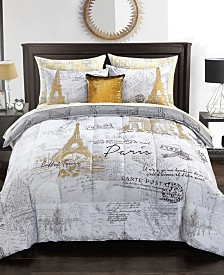Urban Living Paris Bedding Set - Twin