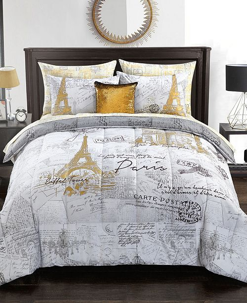 Twin Bed Bedding Sets.Urban Living Paris Bedding Set Twin