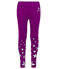 Converse Big Girls Dri-Fit Star-Print Leggings