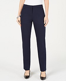 Petite Modern Straight-Leg Pants, Created for Macy's