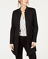Alfani Open-Front Topper Jacket, Created for Macy's