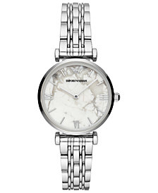 Emporio Armani Women's Stainless Steel Bracelet Watch 32mm