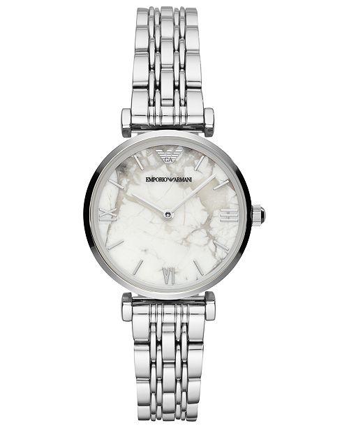 Emporio Armani Women's Stainless Steel Bracelet Watch 32mm