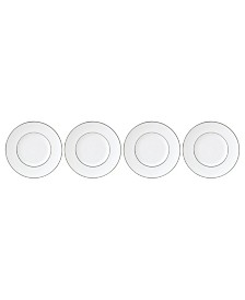 Lenox Continental Dining Platinum Tidbit Plates Set of 4