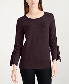 Alfani Bow-Sleeve Sweater, Created for Macy's