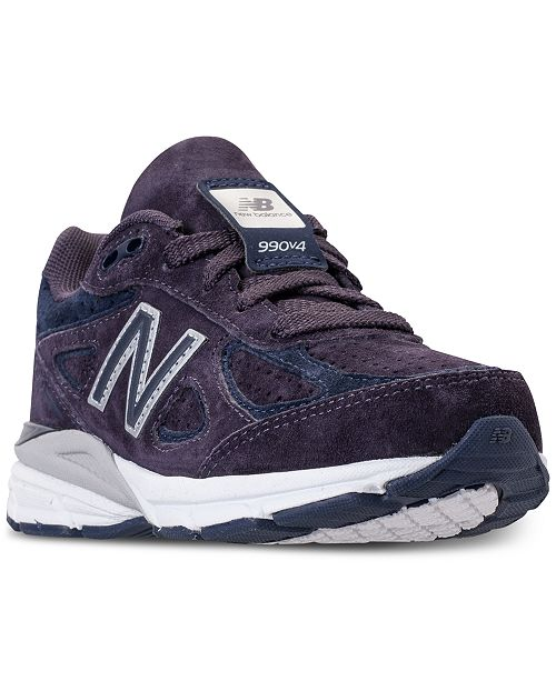 finest selection 08b6b ff710 ... New Balance Boys  990 V4 Running Sneakers from Finish ...