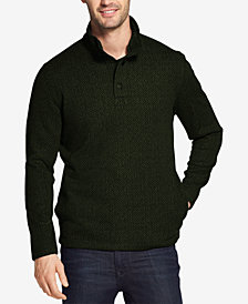 G.H. Bass & Co. Men's Madawaska Snap Mock Fleece Sweater