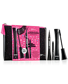 IT Cosmetics 4-Pc. Superhero Lash & Liner Superpowers! Set, A $72 Value!