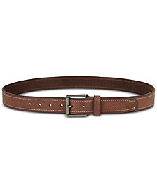 Kenneth Cole Reaction Men's Leather Belt, Created for Macy's