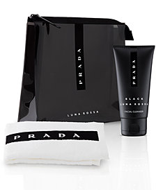 Receive a Complimentary 3-Pc. Travel Set with any large spray purchase from the Prada Luna Rossa fragrance collection, Online Only