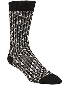 Cole Haan Men's Jacquard Crew Socks