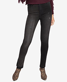 RACHEL Rachel Roy Studded Skinny Jeans, Created for Macy's