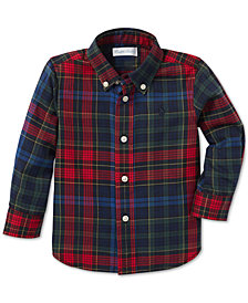 Polo Ralph Lauren Baby Boys Plaid Cotton Twill Shirt