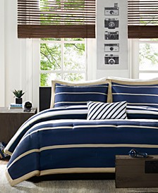 Mi Zone Ashton Full/Queen 4 Piece Comforter Set
