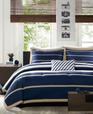 Mi Zone Ashton Full/Queen 4 Piece Comforter Set Bedding