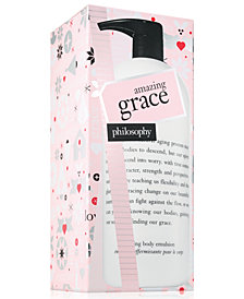 philosophy Amazing Grace Firming Body Emulsion Limited Edition, 32-oz.
