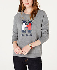 Tommy Hilfiger Thumbhole Logo Top