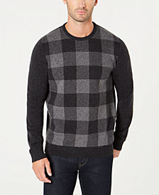 Barbour Men's Wool Buffalo Plaid Sweater