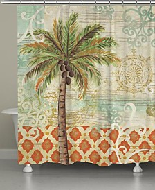 Laural Home Spice Palm Bath Accessory Collection