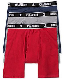 Champion Men's 3-Pk. Performance Long Boxers