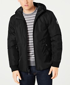Kenneth Cole Men's Hooded Puffer Coat