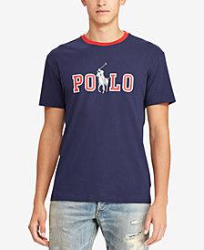 Polo Ralph Lauren Men's Logo Graphic Cotton T-Shirt