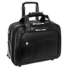 "Chicago 15"" Wheeled Laptop Briefcase"