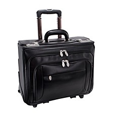"Sheridan 15"" Patented Detachable -Wheeled Catalog Briefcase"