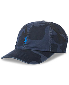 Polo Ralph Lauren Men's Camouflage Baseball Cap