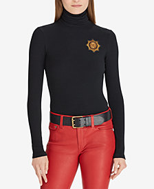 Polo Ralph Lauren Crest Turtleneck Sweater