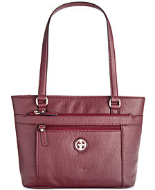 Giani Bernini Pebble Tote Created For Macy S
