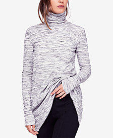 Free People Stone-Cold Vented Turtleneck
