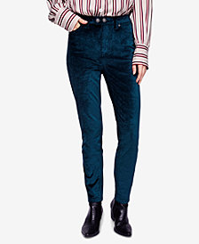 Free People Sweet Jane Velvet Skinny Jeans