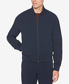 Perry Ellis Men's Slim-Fit Stretch Reversible Tech Jacket