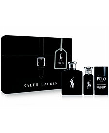 Ralph Lauren Men's 3-Pc. Polo Black Gift Set