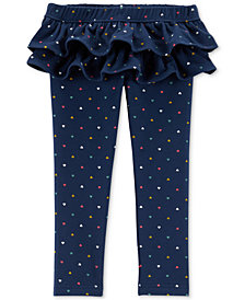 First Impressions Baby Girls Dot Ruffle Legging