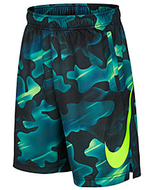 Nike Big Boys Dry Printed Training Shorts