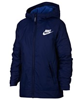 7cfbe27cc2cc Nike Big Boys Sportswear Fleece Hooded Jacket