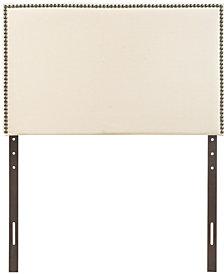 Region Twin Nailhead Upholstered Headboard