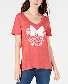 Modern Lux Juniors' Disney Minnie Mouse Graphic T-Shirt
