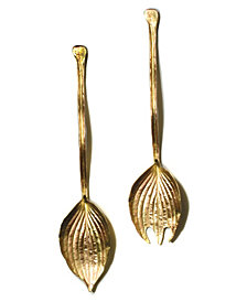 Michael Michaud Hosta Serving Set