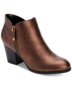 Image of Style & Co Masrinaa Ankle Booties, Created for Macy's Women's Shoes
