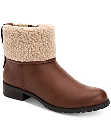 Style & Co Bettey Cuffed Booties, Created for Macy's