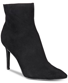 Women's Rylie Pointed Toe Ankle Booties, Created for Macy's