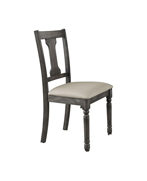 Acme Furniture Wallace Side Chair (Set Of 2), Quick Ship
